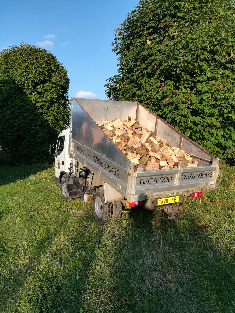 5 cubic meters firewood
