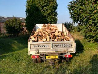 4 cubic meters firewood