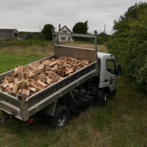 2 cubic meters firewood