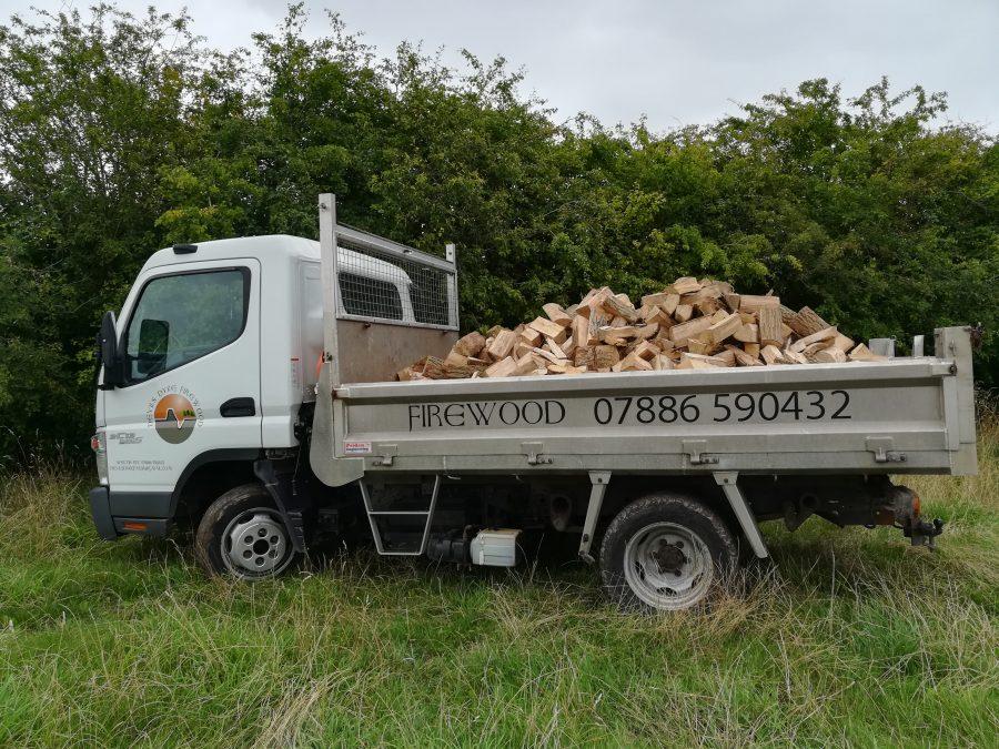3 cubic meters firewood